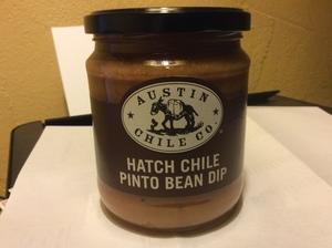 Hatch Chile Pinto Bean Dip--Austin Chile Co. 16 oz.